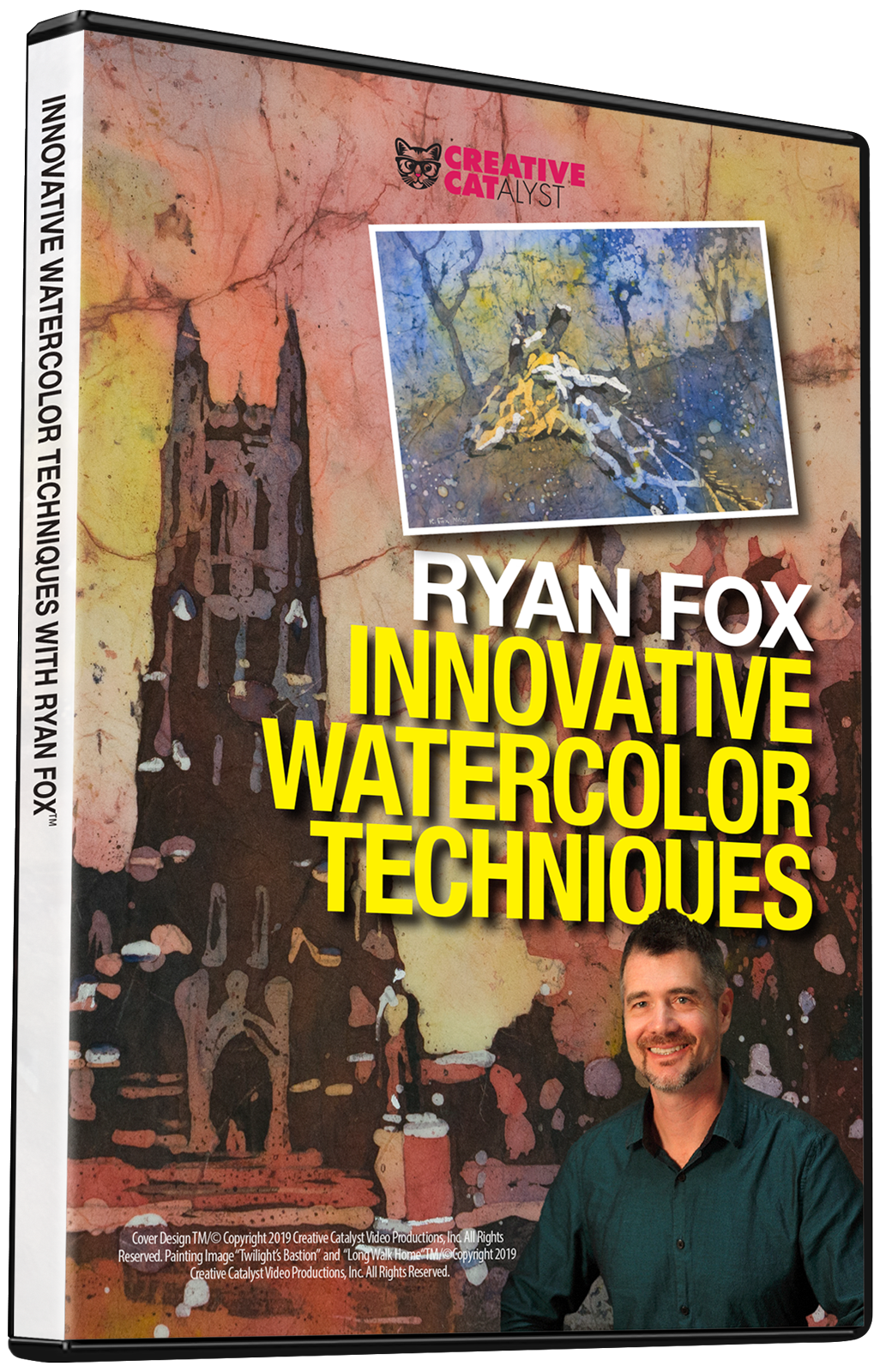 Innovative Watercolor Techniques with Ryan Fox
