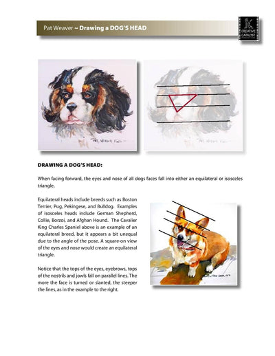 Animal Portraits in Watermedia with Pat Weaver