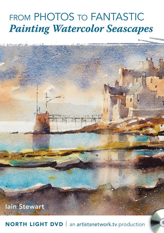 From Photos to Fantastic:  Painting Watercolor Seascapes with Iain Stewart