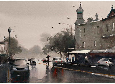 Cityscapes in Watercolor with Dan Marshall