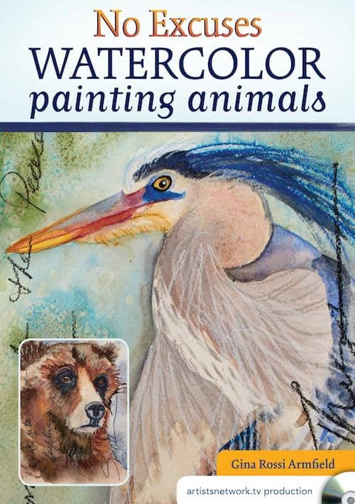 No Excuses Watercolor Painting Animals with Gina Rossi Armfield