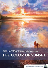 Paul Jackson's Watercolor Workshop:  The Color of Sunset