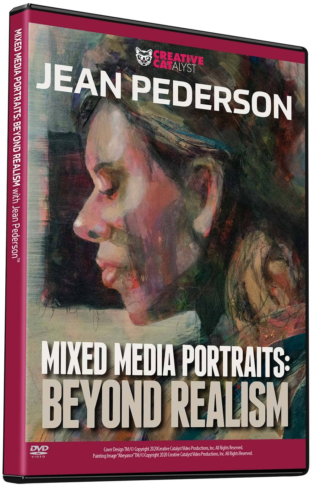 Mixed Media Portraits: Beyond Realism with Jean Pederson