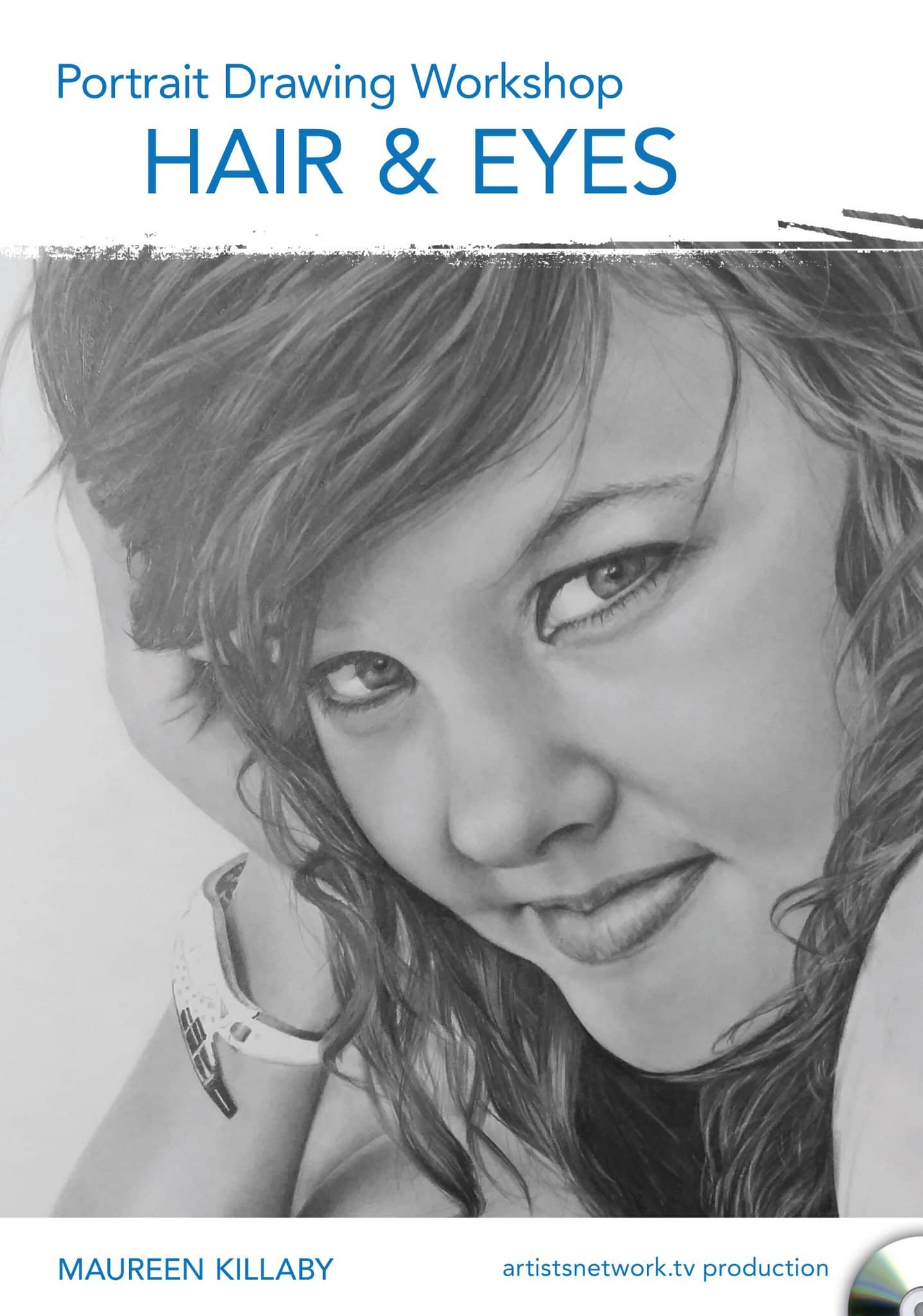 Portrait Drawing Workshop - Hair & Eyes with Maureen Killaby