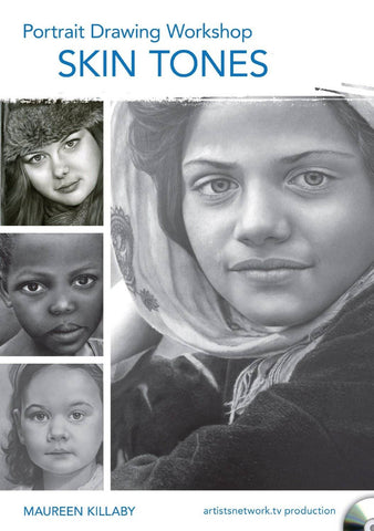 Portrait Drawing Workshop - Skin Tones with Maureen Killaby