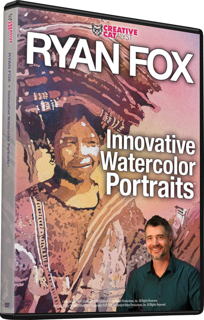 Innovative Watercolor Portraits with Ryan Fox
