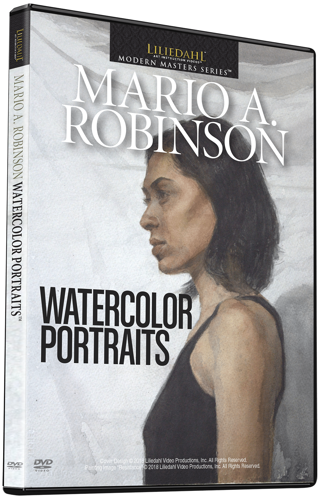 Mario A. Robinson: Watercolor Portraits