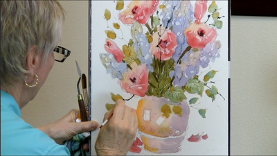Roses & Lilacs:  Loosen Up Your Style with Watercolor Florals with Joyce Hicks