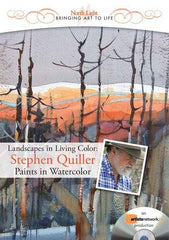 Landscapes in Living Color:  Stephen Quiller Paints in Watercolor