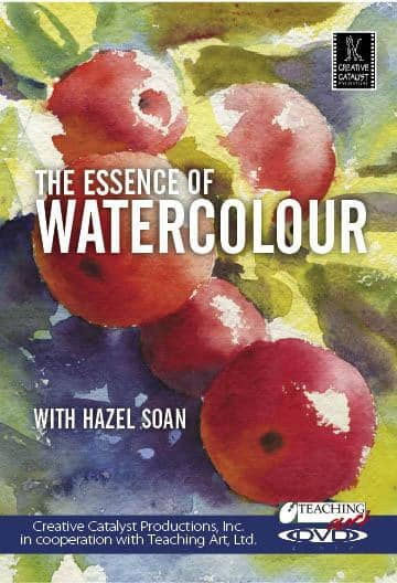 The Essence of Watercolour with Hazel Soan Art Instruction Video-DVD from Creative Catalyst
