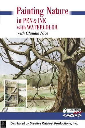 Painting Nature in Pen & Ink with Watercolour with Claudia Nice