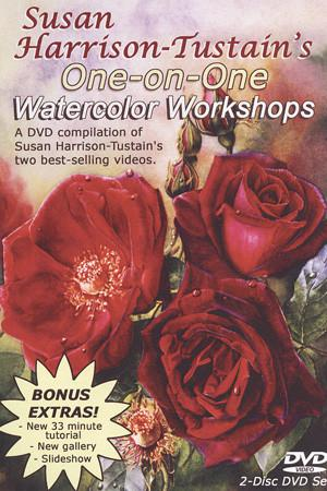 One-on-One Watercolor Workshops with Susan Harrison-Tustain Art Instruction Video-DVD from Creative Catalyst