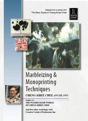 Marbleizing and Monoprinting Technique with Cheng-Khee Chee