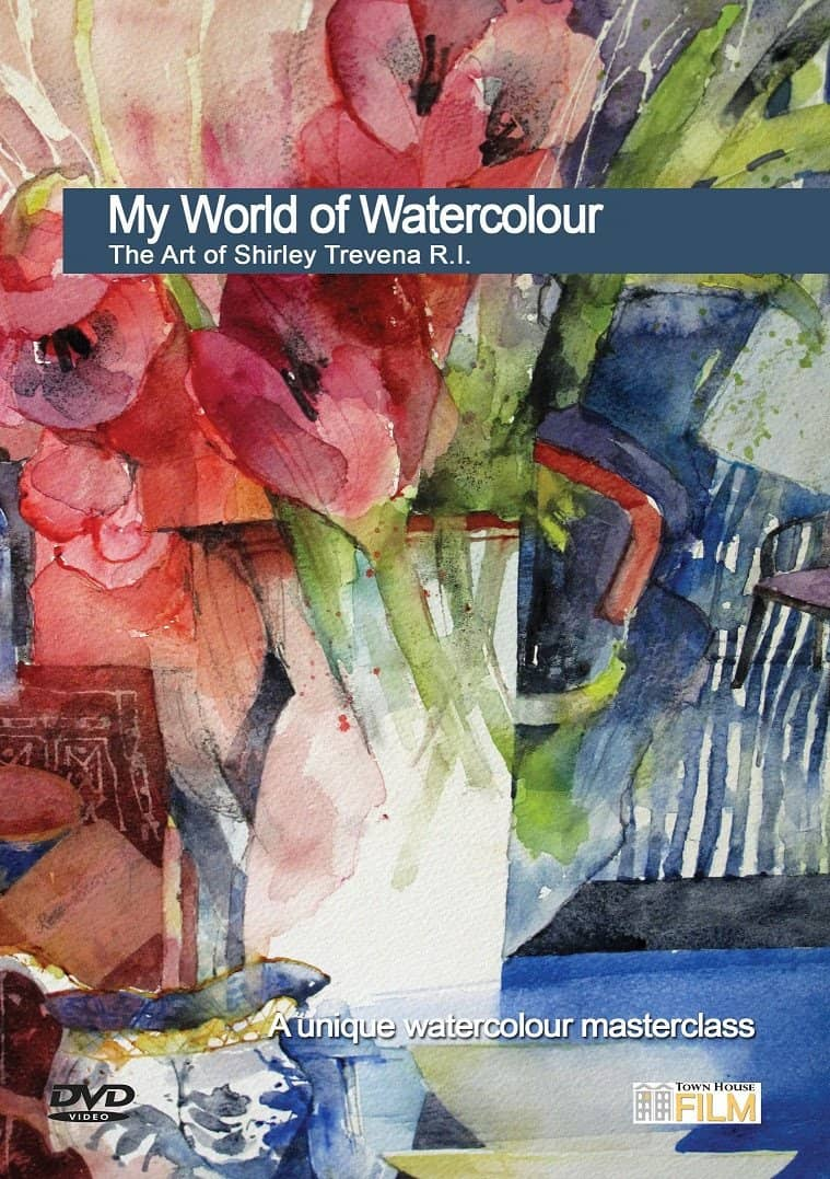My World of Watercolour: The Art of Shirley Trevena, R.I. Art Instruction Video-DVD from Creative Catalyst