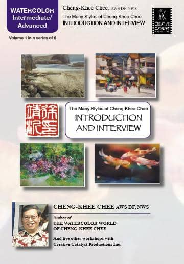 The Many Styles of Cheng-Khee Chee: Introduction & Interview with Cheng-Khee Chee Art Instruction Video-DVD from Creative Catalyst