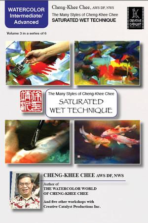 Saturated Wet Technique with Cheng-Khee Chee Art Instruction Video-DVD from Creative Catalyst
