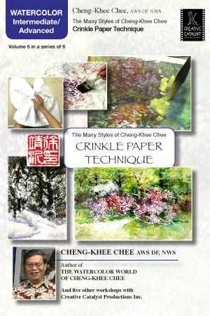 Crinkle Paper Technique with Cheng-Khee Chee Art Instruction Video-DVD from Creative Catalyst