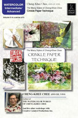 Crinkle Paper Technique with Cheng-Khee Chee