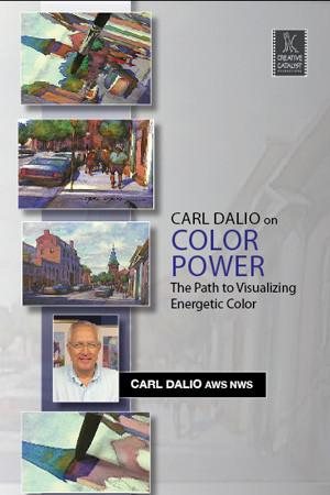 Color Power: The Path to Visualizing Energetic Color with Carl Dalio Art Instruction Video-DVD from Creative Catalyst