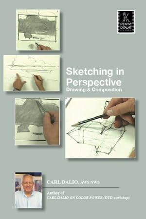 Sketching in Perspective with Carl Dalio Art Instruction Video-DVD from Creative Catalyst
