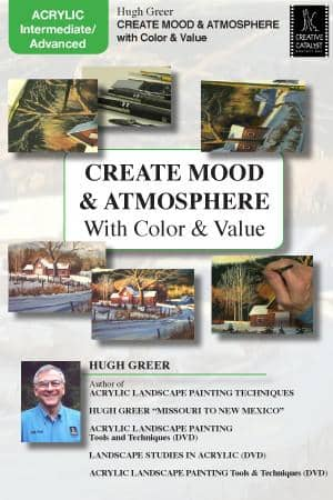 Create Mood & Atmosphere with Color & Value with Hugh Greer Art Instruction Video-DVD from Creative Catalyst