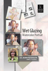 Wet Glazing Watercolor Portrait with Jean Pederson