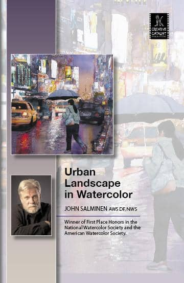 Urban Landscape in Watercolor with John Salminen Art Instruction Video-DVD from Creative Catalyst