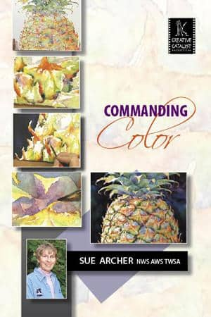 Commanding Color with Sue Archer Art Instruction Video-DVD from Creative Catalyst