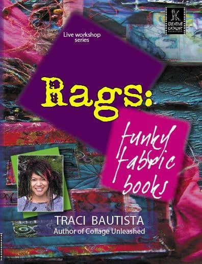 Retro Rags: Funky Fabric Books with Traci Bautista Art Instruction Video-DVD from Creative Catalyst