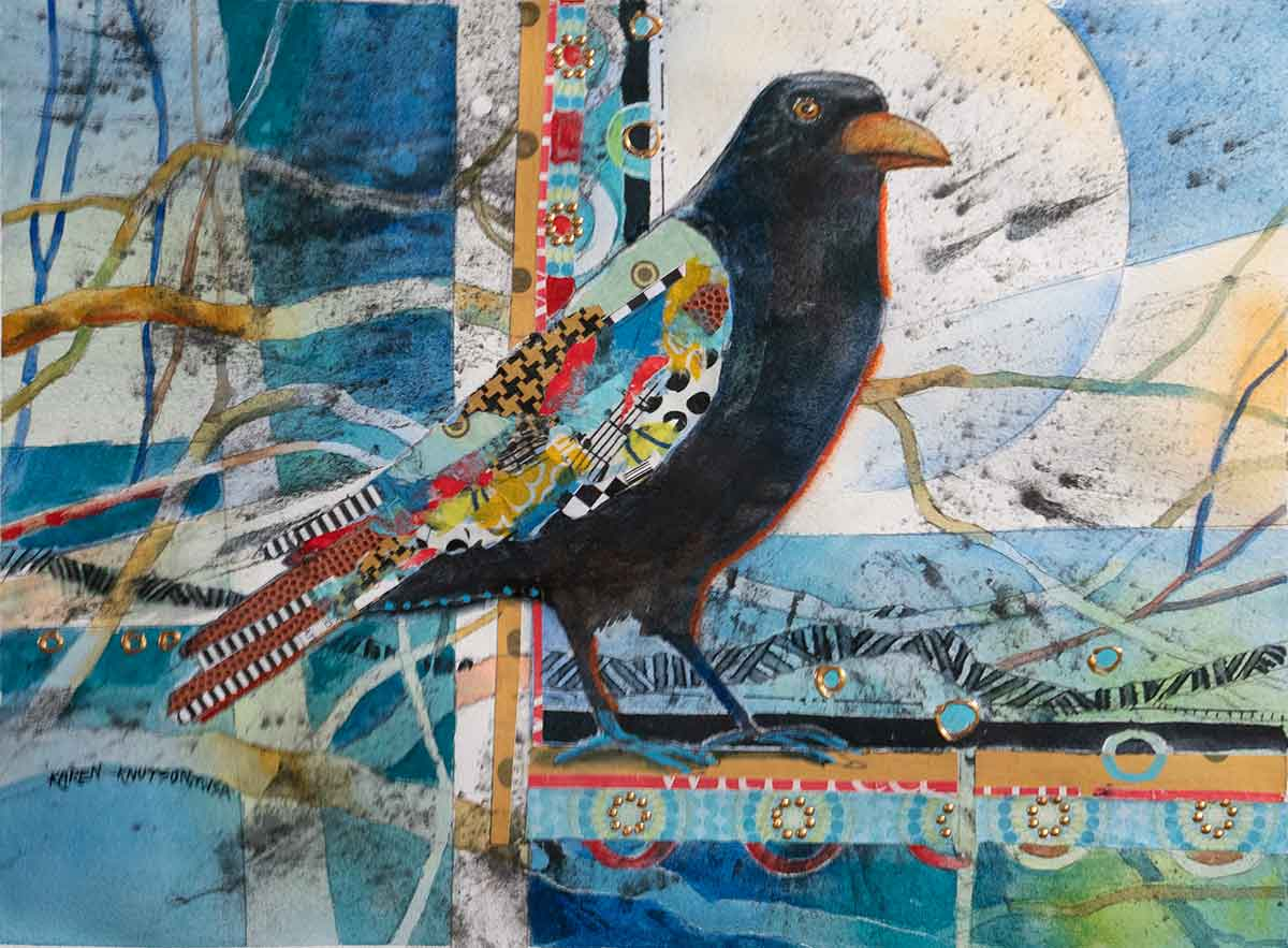 Fun with Mixed Media with Karen Knutson - Creative Catalyst Productions