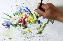 Painting Flowers in Watercolour with Charles Reid Art Instruction Video-DVD from Creative Catalyst