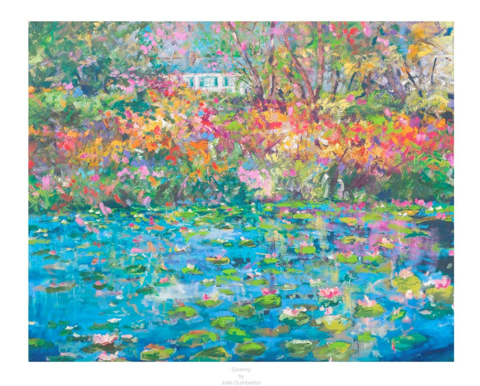 Limited Edition Giverny' Extra Large Print Now Available