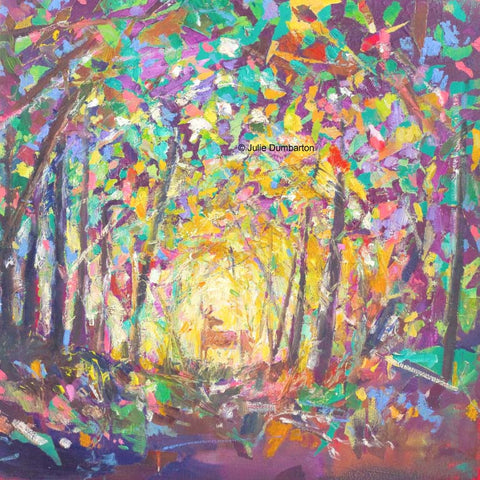 'Evening Glade' Print Hand Signed By Julie