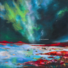 ** NEW ** 'Icelandic Glow' Print Hand Signed By Julie