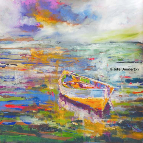 'Sail Away' Print Hand Signed By Julie