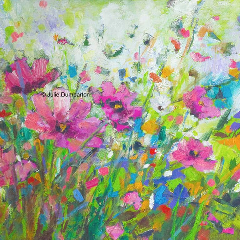 'Spring Cosmos' Print Hand Signed By Julie