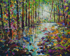'Wood River' Print Hand Signed By Julie