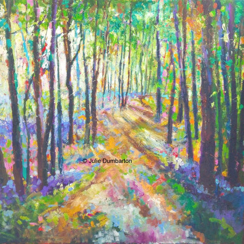 'Woodland Path' Print Hand Signed By Julie