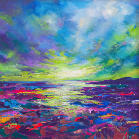 'Lights Over the Sea' Print Hand Signed By Julie