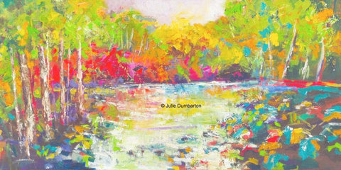 'Birch River' Print Hand Signed By Julie