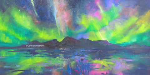 'Dancing Aurora' Print Hand Signed By Julie