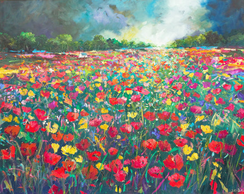 'Flanders Field' Print Hand Signed By Julie