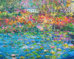 'Giverny' Limited Edition Extra Large Print Hand Signed By Julie