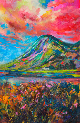 'Glencoe' Print Hand Signed By Julie