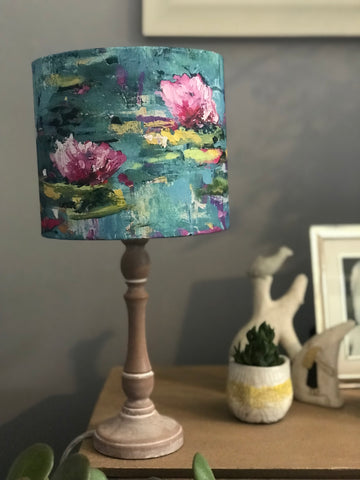 'Waterlilies' lampshade