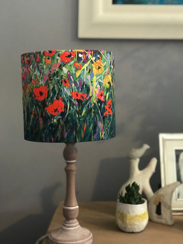 'Poppies' lampshade