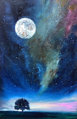 'The Moon & The Milky Way'