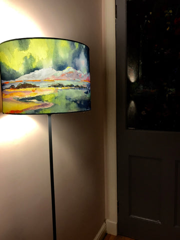 'Northern Lights' lampshade