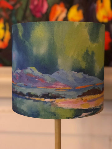 ''Northern Lights' lampshade