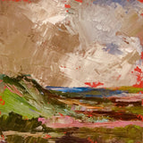 Midi original oil painting 'Highland Clouds'